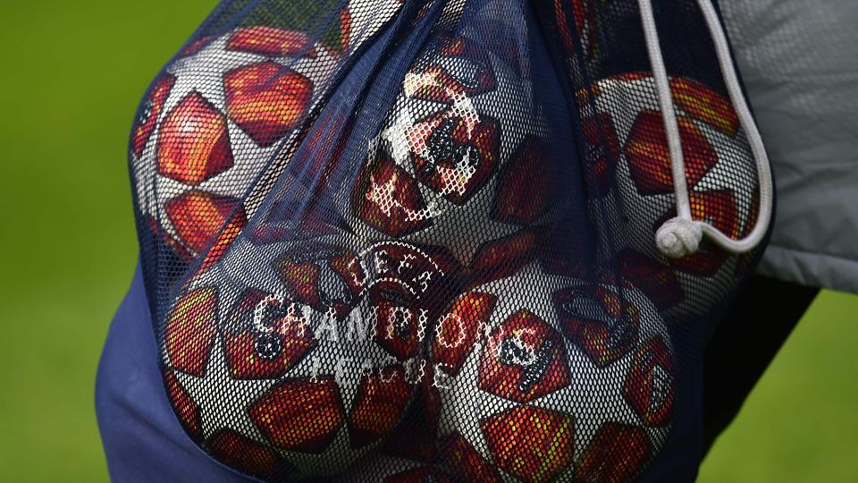 Ajax and Real Madrid will play the first leg of their Champions League round of 16 tie on Wednesday.