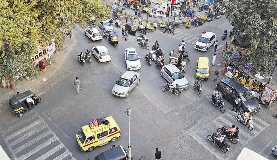Pune,Tackling traffic congestion,busy junctions