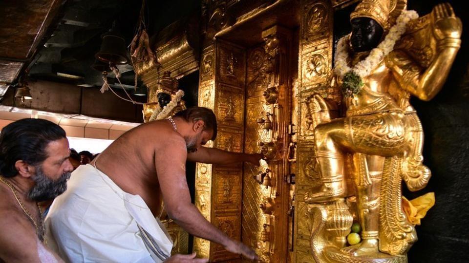 Sabarimala temple,Sabarimala temple reopens,India news