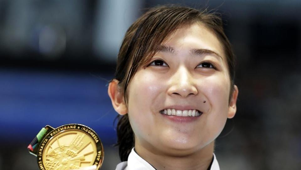 File picture of Japan's Rikako Ikee