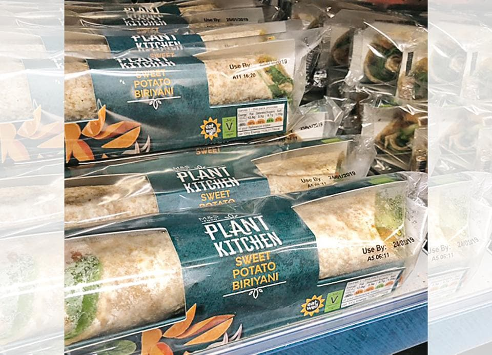 Marks & Spencer made a vegan wrap, and called it a 'biriyani'!