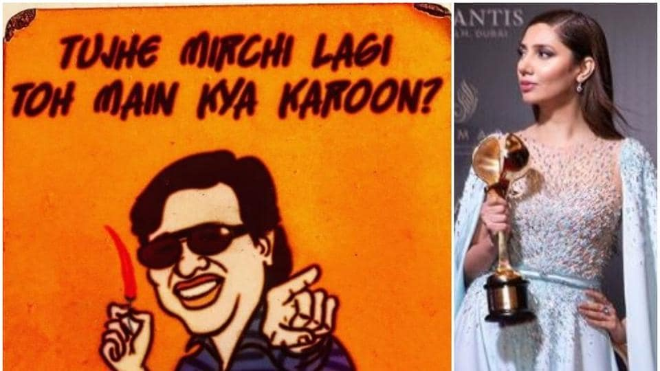 Mahira Khan shared a picture of her fridge magnet featuring Govinda on Instagram. She was also inDubai for an awards function.