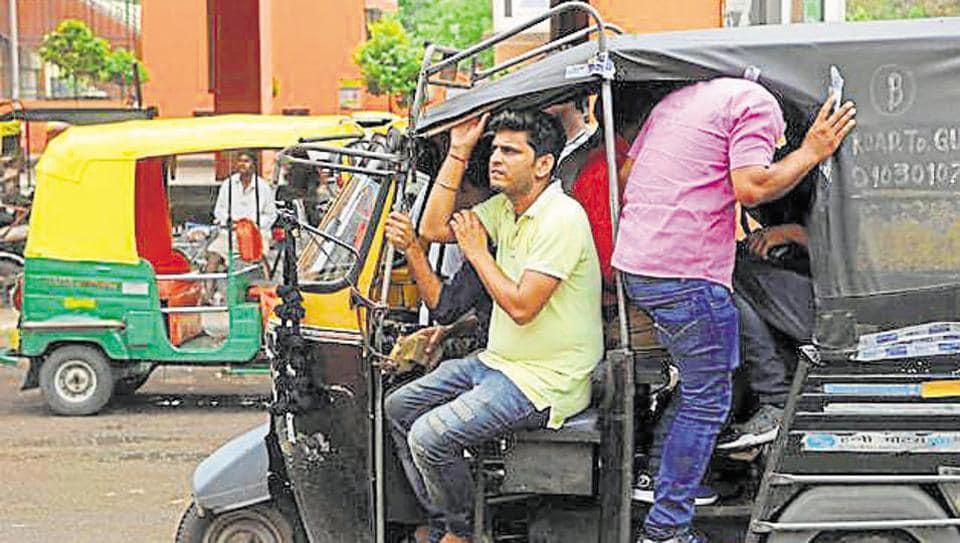 crime,shared auto rides in gurugram,gurgaon news