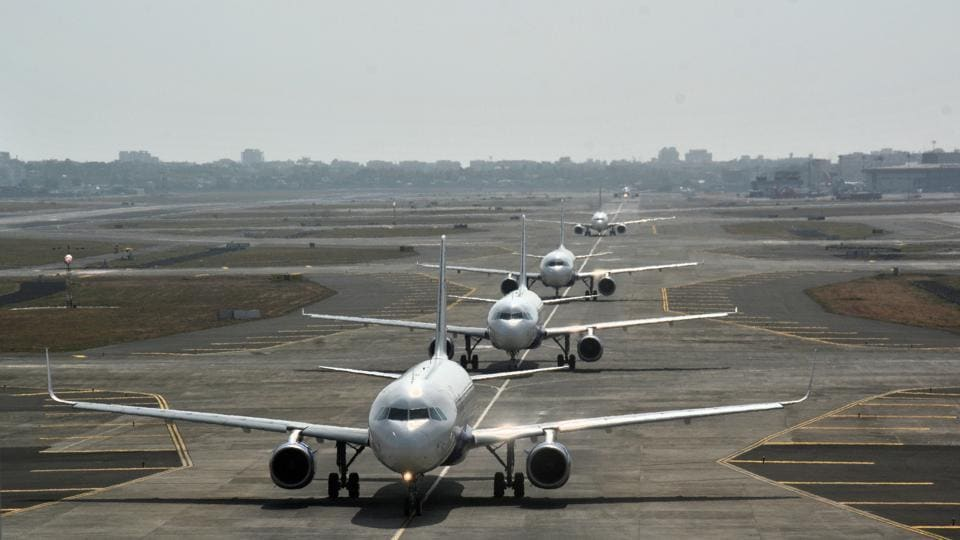 Of the total planned 230 flight cancellations on Tuesday, 33 were between Mumbai and Delhi, the country's busiest air route.