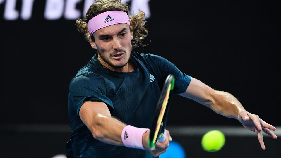 File picture of Stefanos Tsitsipas