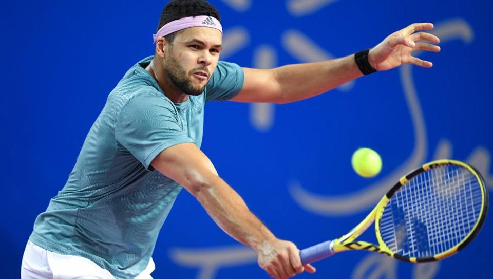 File picture of Jo-Wilfried Tsonga