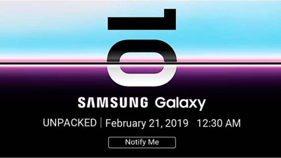 Samsung Galaxy S10 teased on Flipkart in India.
