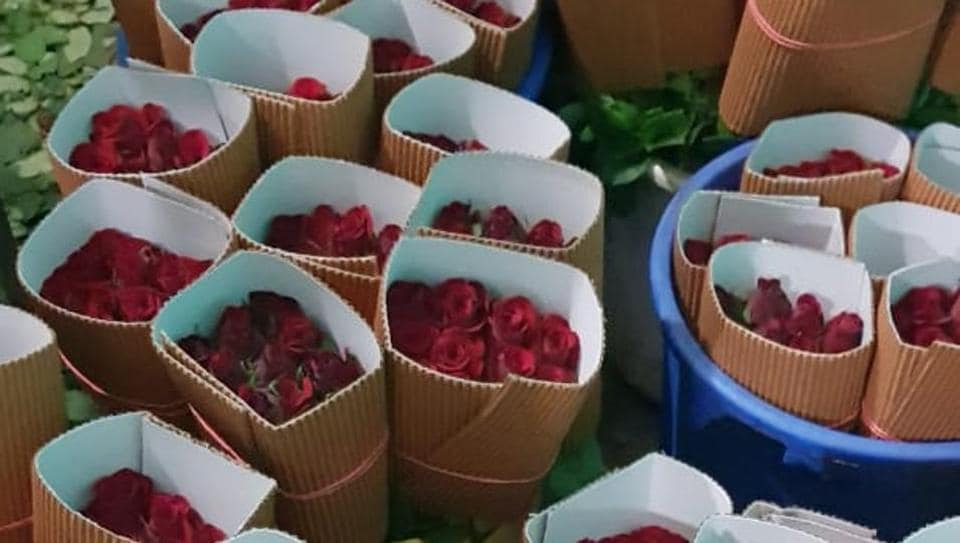 Valentine's Day,Rose exports,Krishnagir