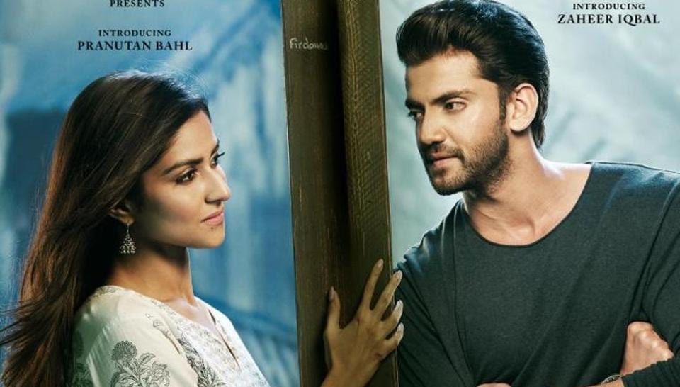 Notebook poster features Pranutan Bahl and Zaheer Iqbal.