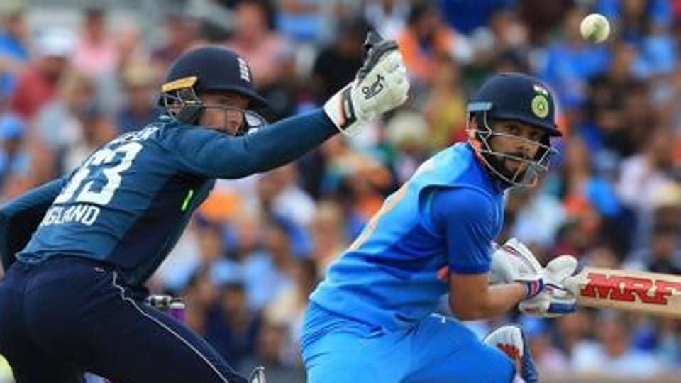 File image of India captain Virat Kohli and England wicket-keeper Jos Buttler.