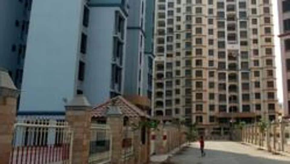 A MHADA colony in Mumbai.