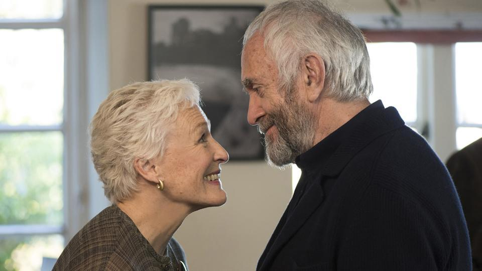 Glenn Close is marvellous as the wife dealing with resentment, regret, and a philandering husband.