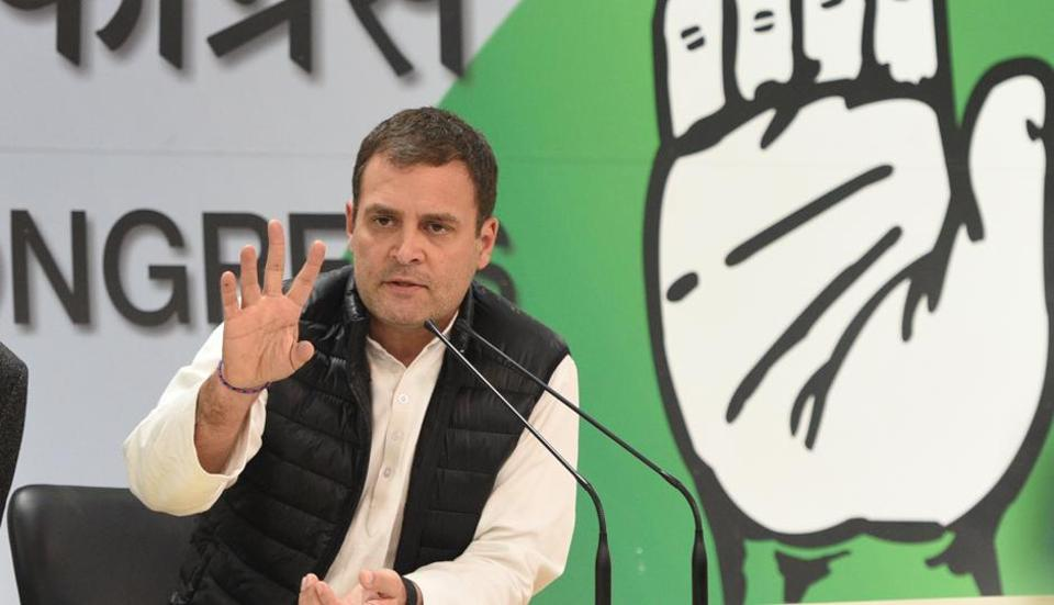 Congress president Rahul Gandhi said that the 2019 polls will be a fight between ideologies.