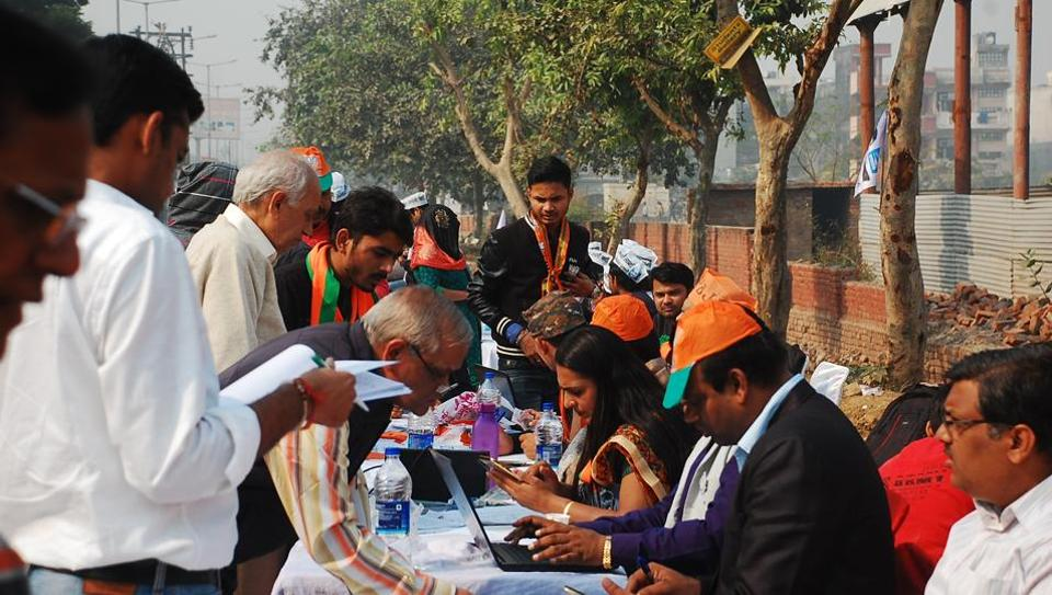 delhi chief electoral officer,voters list,electoral rolls