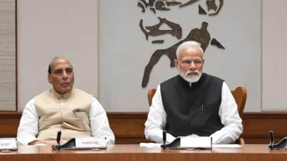 Prime Minister Narendra Modi chaired a Cabinet Committee on Security (CCS) meeting Friday morning to discuss post-Pulwama terror attack security situation in the Kashmir Valley.