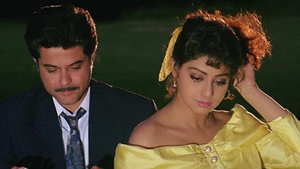 Anil Kapoor and Sridevi worked in a number of films together including Mr India and Lamhe.