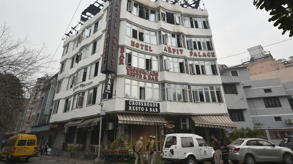 Police said the  management of Hotel Arpit Palace told them that they have the licence to run a guest house but have not been able to produce it so far.
