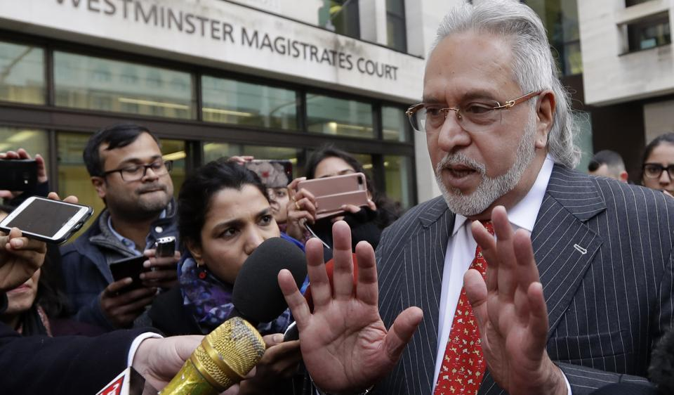 Vijay Mallya's company, Kingfisher Airlines, defaulted on loans worth around Rs 9000 crore to a consortium of Indian banks, and he fled the country just before a debt court ordered action against him