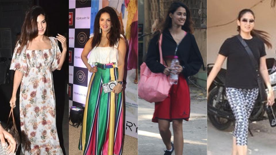 Jacqueline Fernandez, Sunny Leone, Disha Patani and Mira Rajput spotted in Mumbai.