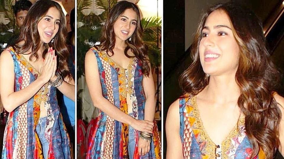 Sara Alia Khan's look is super easy to re-create. Ger her boho style. (Varinder Chawla)