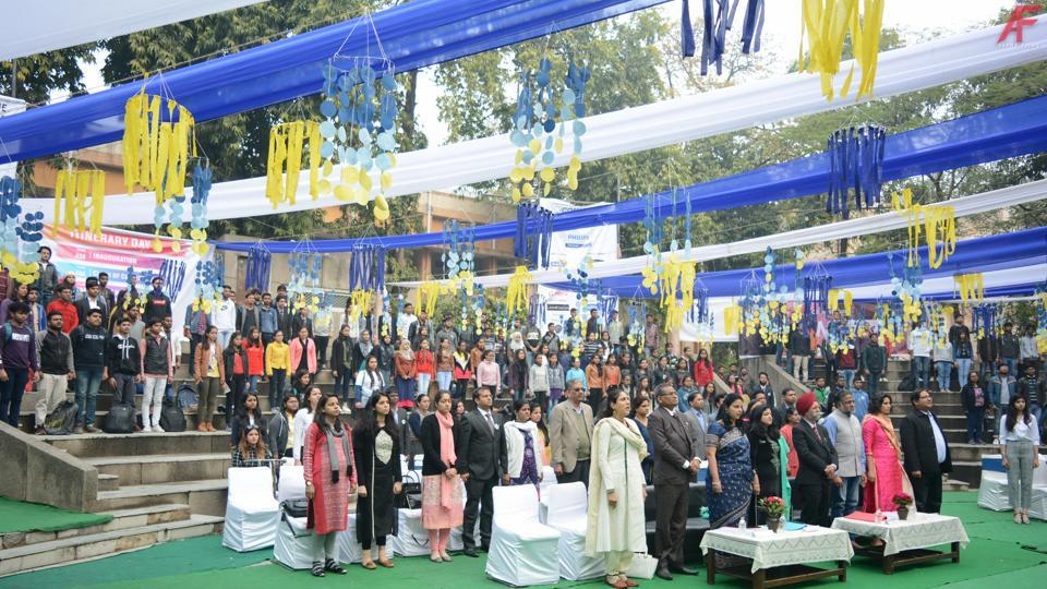 Communique 2019,Dyal Singh College,College fest