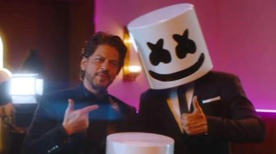Shah Rukh Khan makes cameo in new Marshmello music video, a