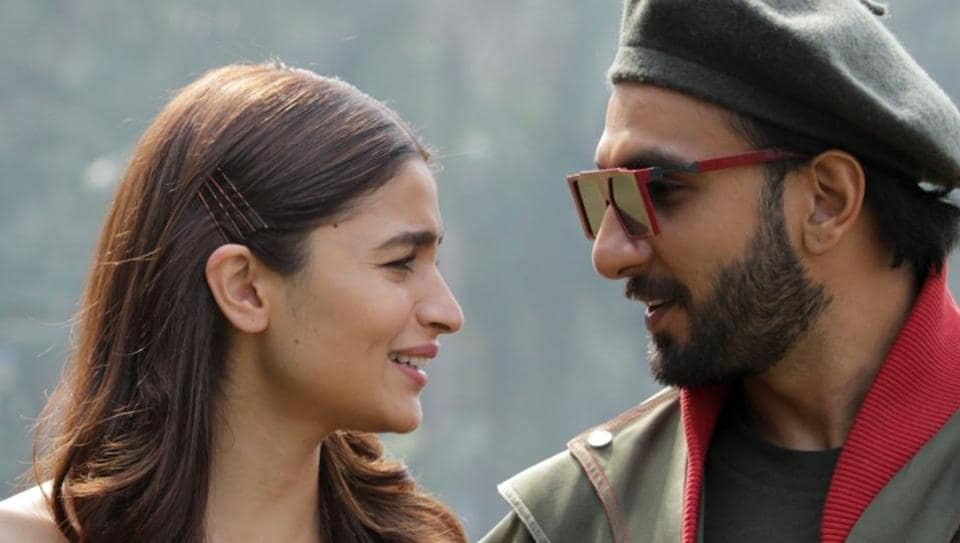 Actors Ranveer Singh and Alia Bhatt during a press conference regarding their upcoming film Gully Boy in New Delhi on Feb 13, 2019.