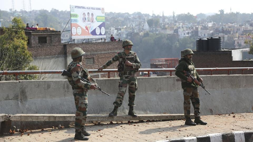 The CRPF and Jammu and Kashmir police opened a helpline, while a students' organisation set up a temporary camp in Mohali to accommodate at least 20 young men and women who had left Dehradun and Ambala after facing threats.