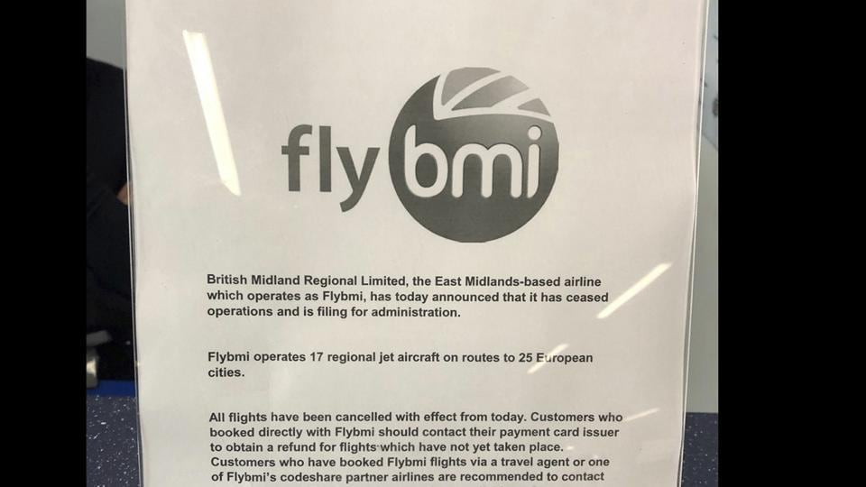 Flybmi,british airline,collapse