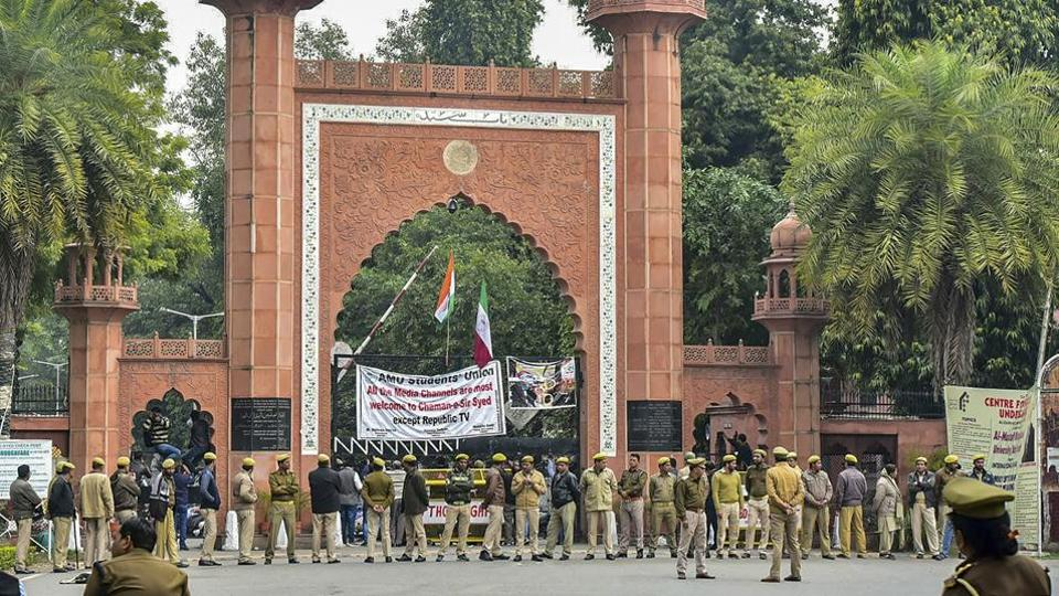 Several parts of Aligarh witnessed protests after the attack, prompting AMU authorities to issue an advisory to Kashmiri students cautioning them against moving out of the campus.