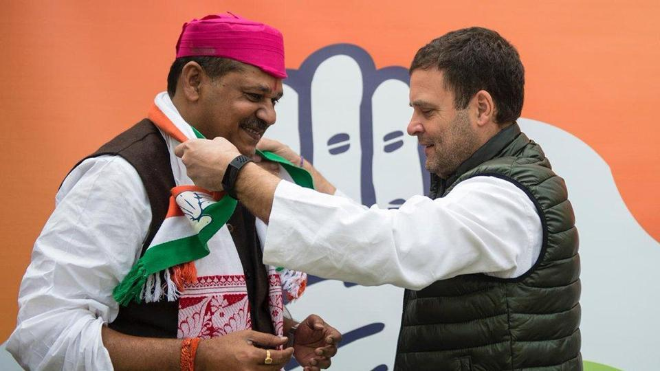 Kirti Azad had defeated RJD's four-time MP Md Ali Ashraf Fatmi in 2014 by nearly 34,000 votes.