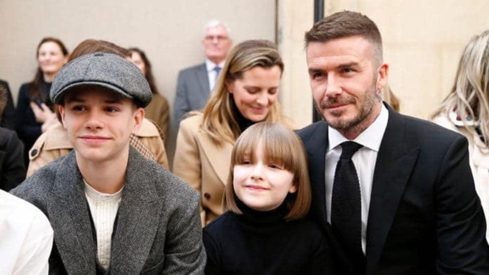 London fashion week,Victoria beckham,David Beckham