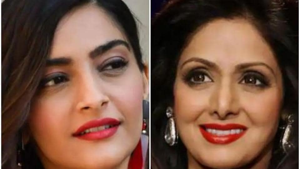 Sonam Kapoor spoke about her aunt Sridevi in a recent interview.