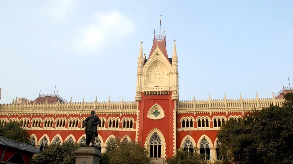 A view of the Calcutta High Court.