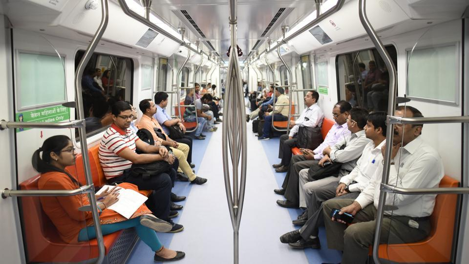 Passengers on Delhi Metro's  Magenta line have complained of 'excessive announcements' in the 57-minute long journey.