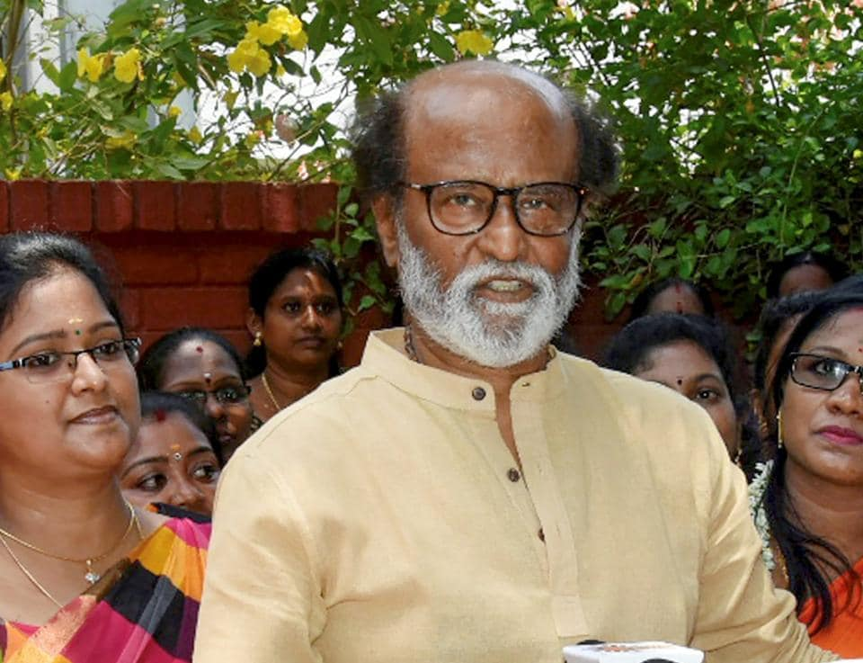 The BJP has been wooing veteran actor Rajinikanth for a long time despite the actor .saying he will launch his own political party.