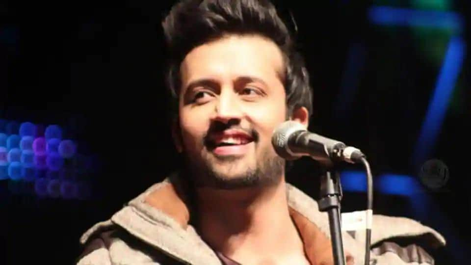 Atif Aslam had recorded a song for Salman Khan's Notebook.