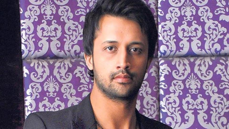 Pakistani singer-actor Atif Aslam.  The MNShas written a letter to FM stations not to play songs by Pakistani artistes.