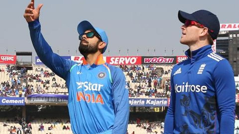 File image of Virat Kohli and Eoin Morgan.