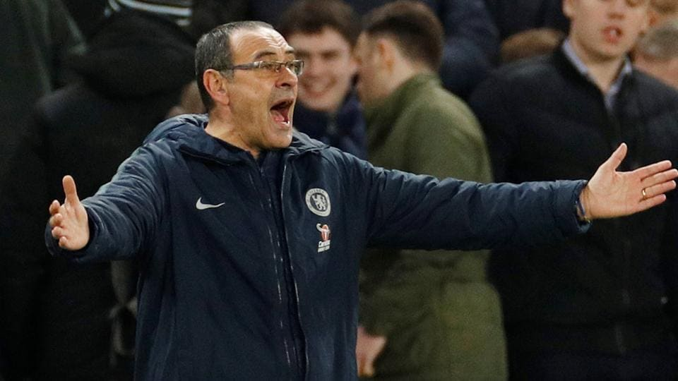 'I'm not worried': Under-fire Chelsea manager Sarri doesn't fear the sack | football