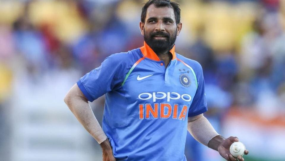 File picture of Mohammed Shami
