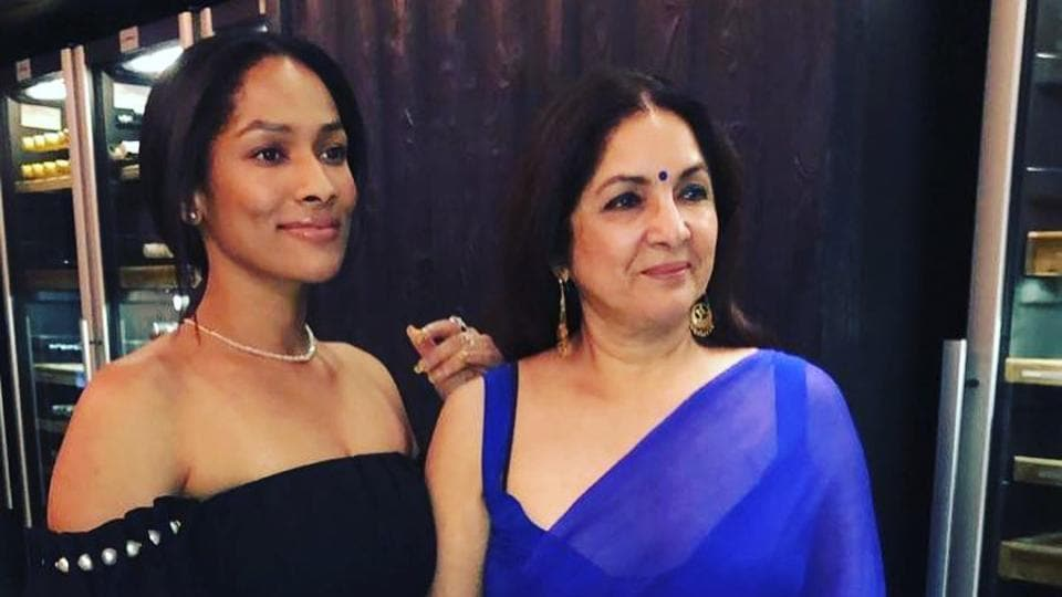 Masaba is the daughter of actor Neena Gupta and cricketer Viv Richards.