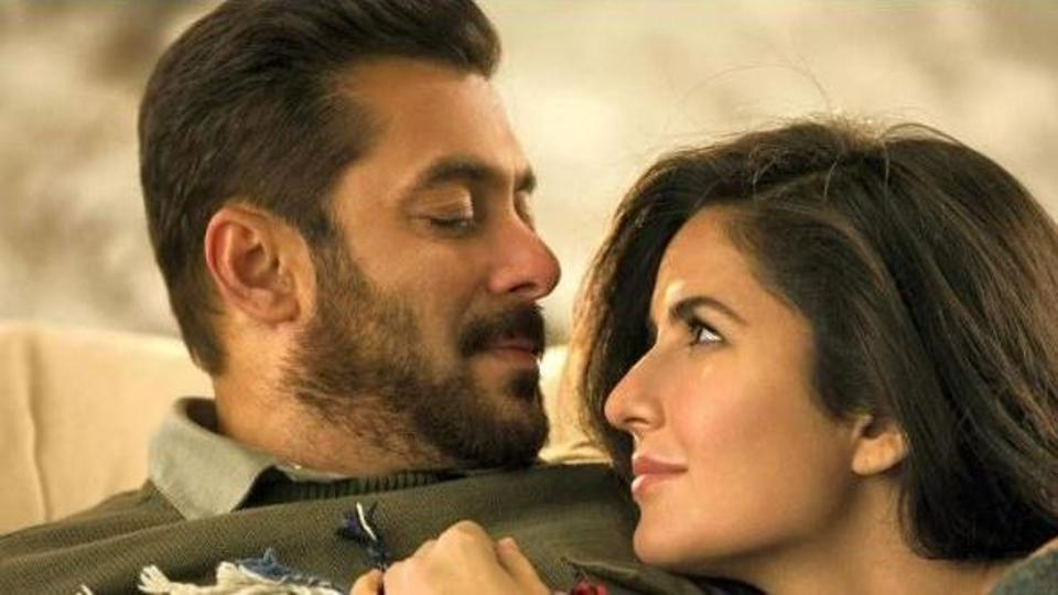 SalmanKhan and Katrina Kaif in a still from their last film, Tiger Zinda Hai.