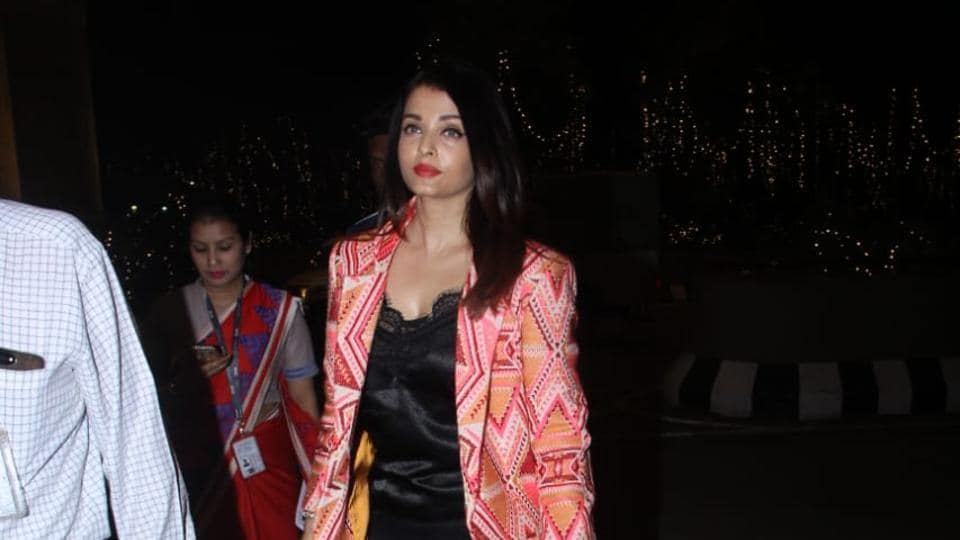 Aishwarya Rai Bachchan, Paints Instagram Red, All The Way From Doha