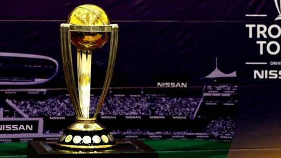 ICCCricket World Cup trophy.