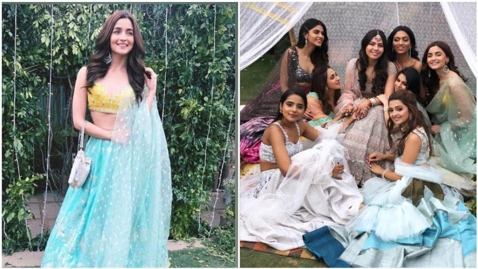 Alia Bhatt is the happiest bridesmaid at friend's wedding  See pics