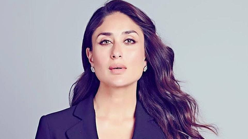 ae7274ac2cc Kareena Kapoor s black pantsuit looks fit for the boss lady that she ...