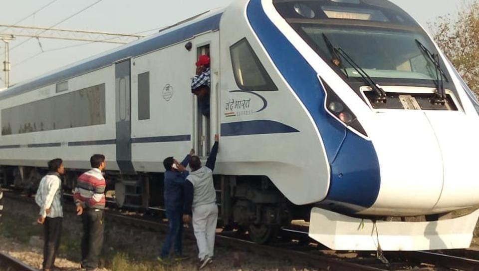 vande bharat express,train 18,vande bharat express stones