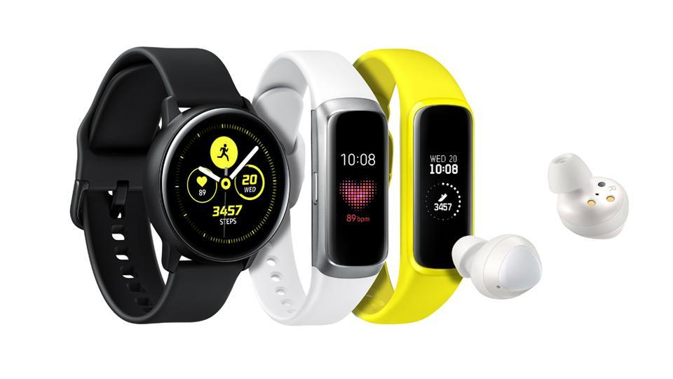 Samsung Galaxy Watch Active Buds Fit And E Launched Specifications Features