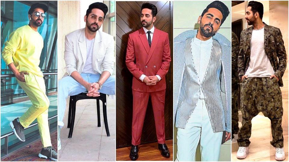 Ayushmann Khurrana is not afraid to play with colour. (Instagram)